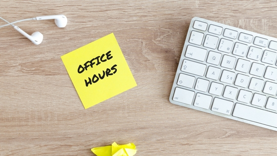 THE IMPORTANCE OF KEEPING OFFICE HOURS