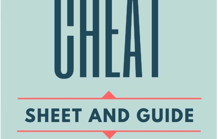 YouTube Cheat Sheet And Guide