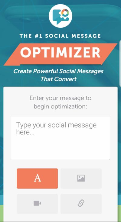The social media optimizer is one of the free tools Coschedule offers.