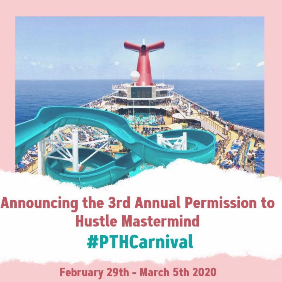 We can't wait for the Permission to Hustle Carnival Retreat coming in 2020.